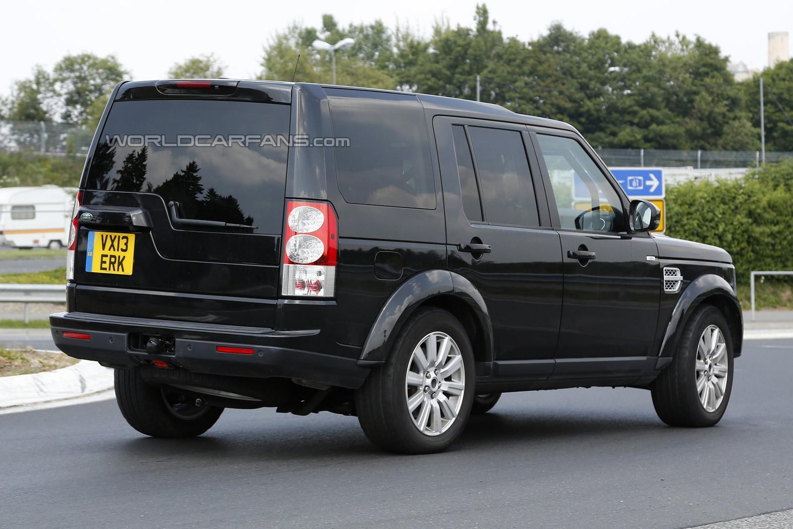 facelifted 2014 lr4 spied again the land rover center. Black Bedroom Furniture Sets. Home Design Ideas
