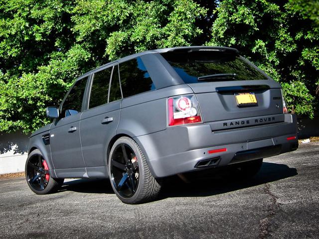 Platinum Motorsport S Range Rover Sport Projekt Grey Xiii