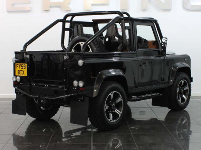 Defender 90 Svx By Overfinch The Land Rover Center