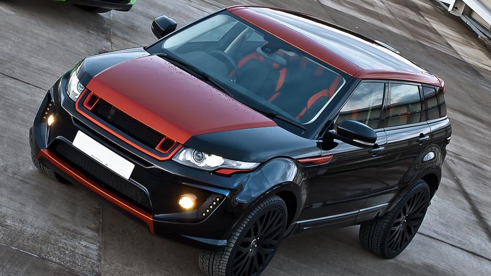 Range Rover Evoque Gets Vesuvius Makeover From Kahn Design