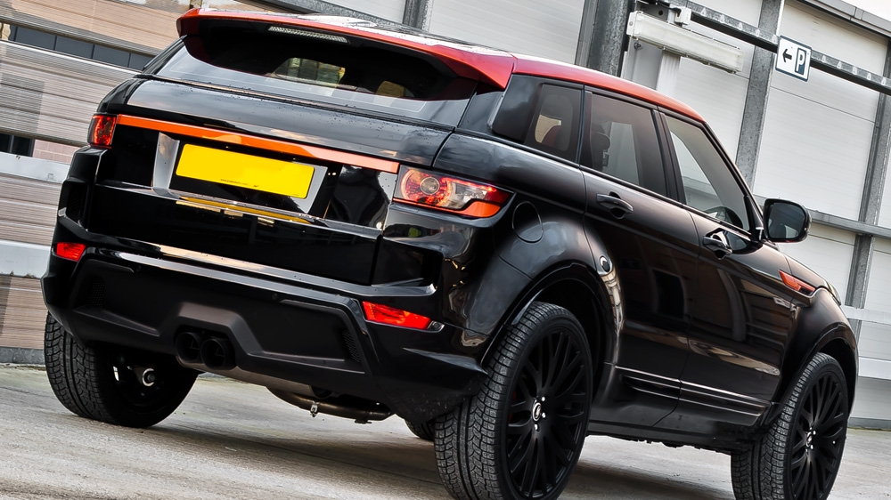 Range Rover Evoque Gets Vesuvius Makeover From Kahn Design