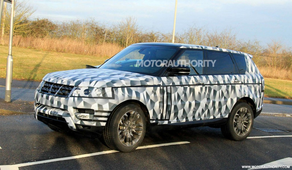 2014 Range Rover Sport Spy Shots | The Land Rover Center