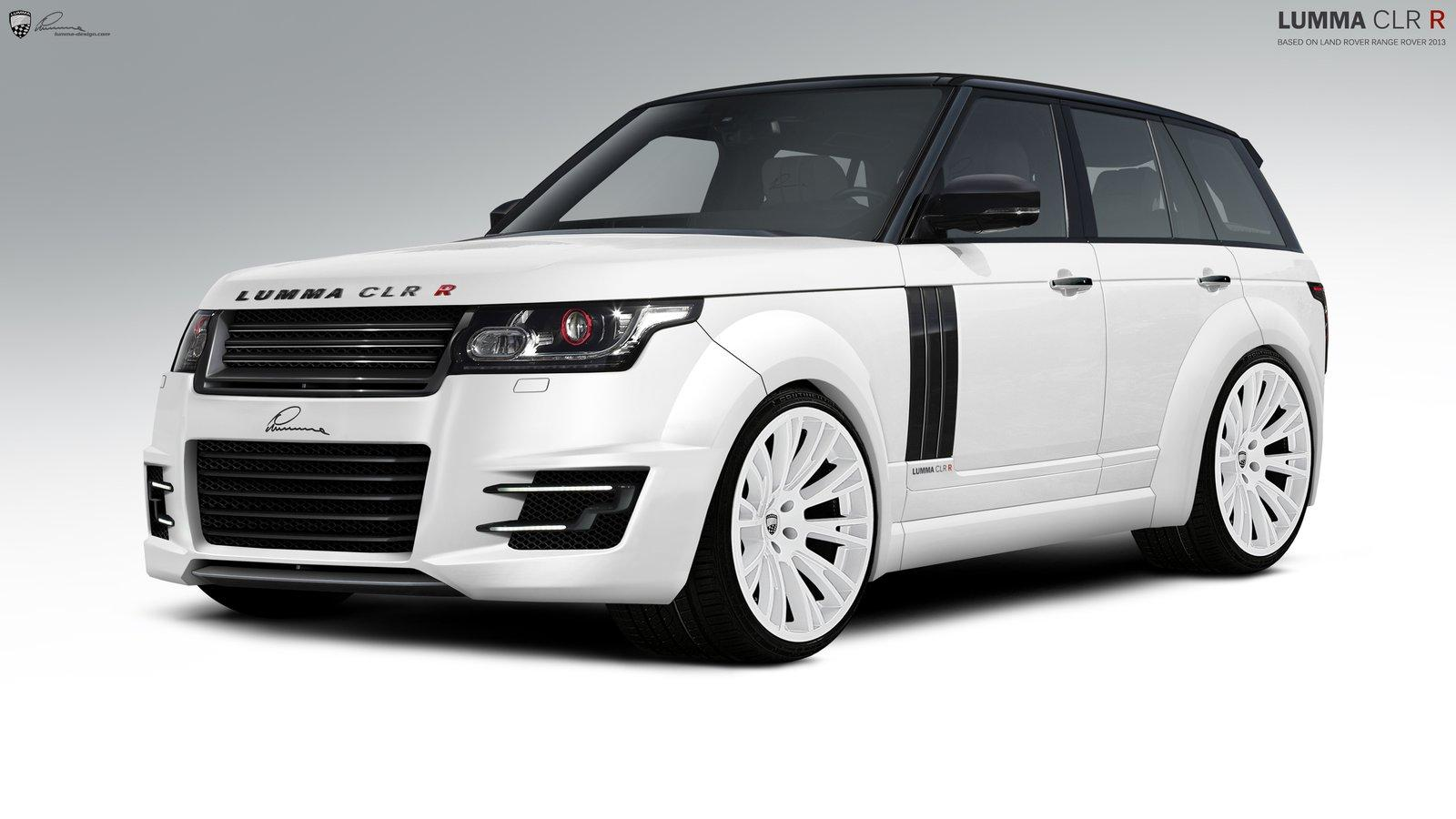 Lumma Design Previews Tuning Program For The 2013 Range