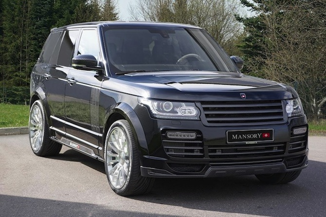 Mansory Range Rover The Land Rover Center
