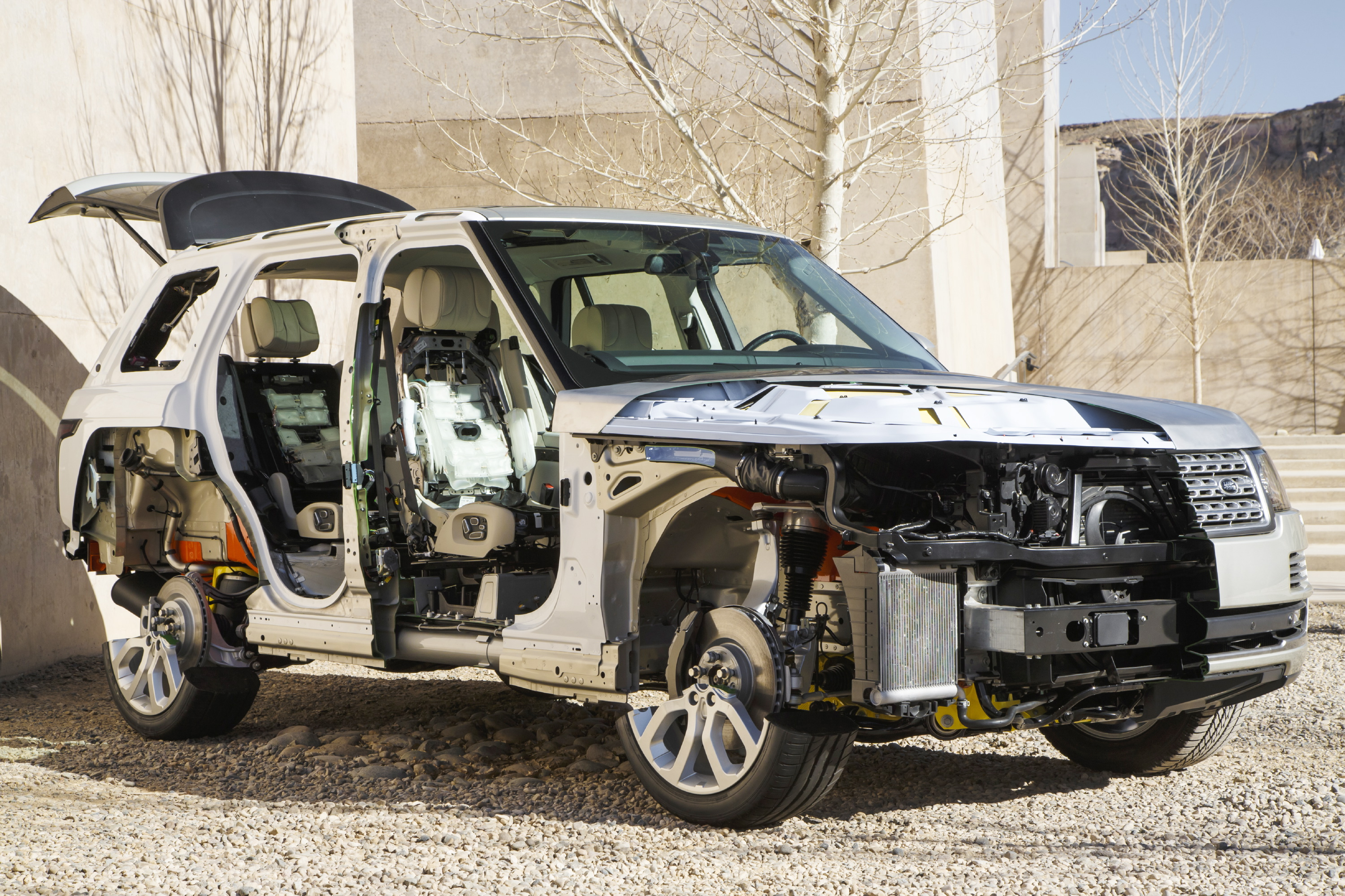 Dissecting The Range Rover L405 The Land Rover Center