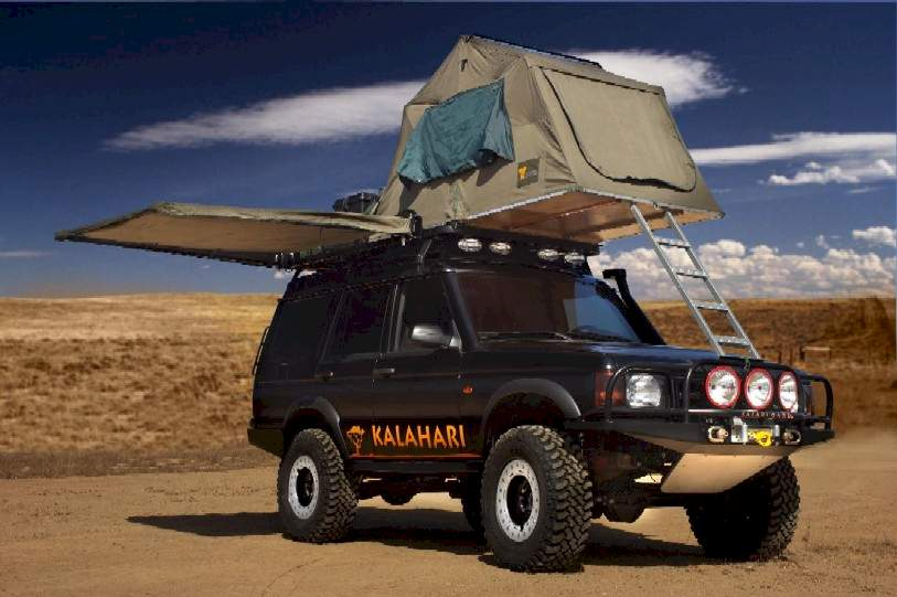 Discovery Ii Kalahari Concept The Land Rover Center