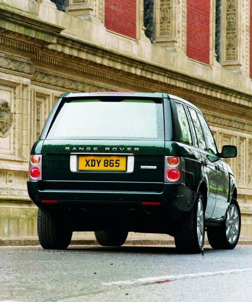 2003 Land Rover Range Rover Interior: Range Rover AUTOBIOGRAPHY 2003