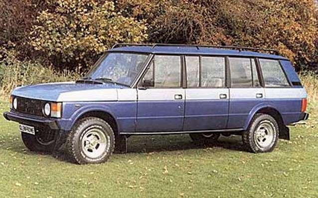 Range Rover Glenfrome The Land Rover Center