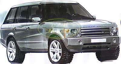 range rover vogue 2003 the land rover center. Black Bedroom Furniture Sets. Home Design Ideas